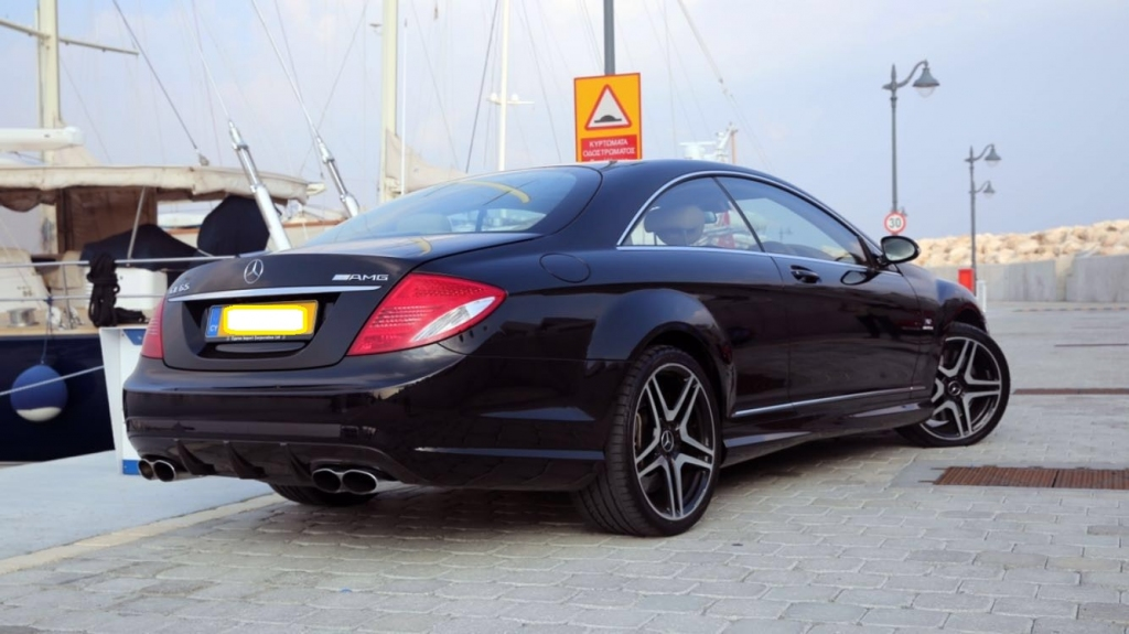 mercedes benz cl 65 amg limassol cyprus. Black Bedroom Furniture Sets. Home Design Ideas
