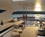 Horizon 122 yacht rental luxury yacht vacation 3