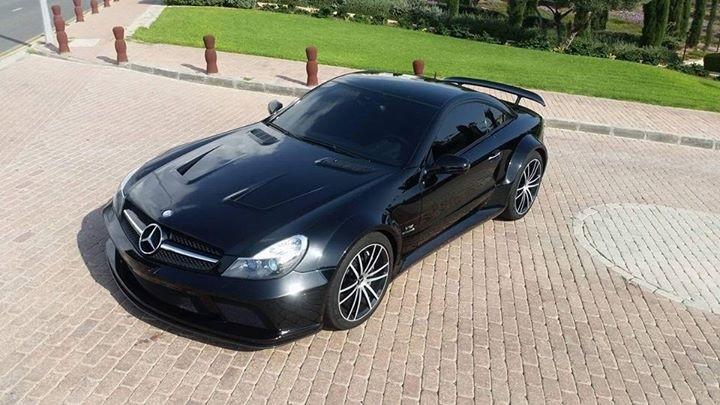 2009 Mercedes Benz SL65 AMG Black Series