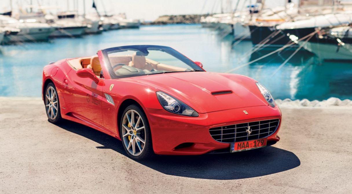 Ferrari California GT Rental - Hire - Tour - Limassol