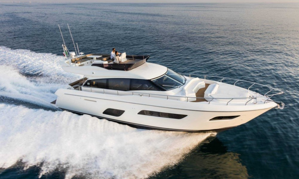Ferretti 55 for rent in Limassol Cyprus 6