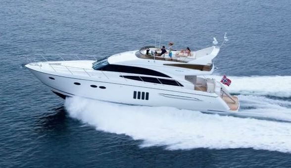 Princess 62 Private Chartering in Cyprus Limassol by Spectre.bz