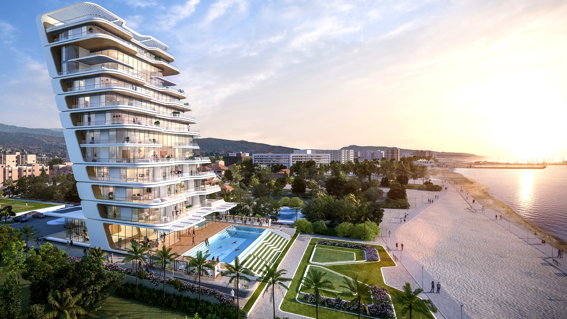 Marco Polo Sea front Apartments for sale in Limassol Cyprus, Marco Polo, Luxury properties for sale in Limassol Cyprus