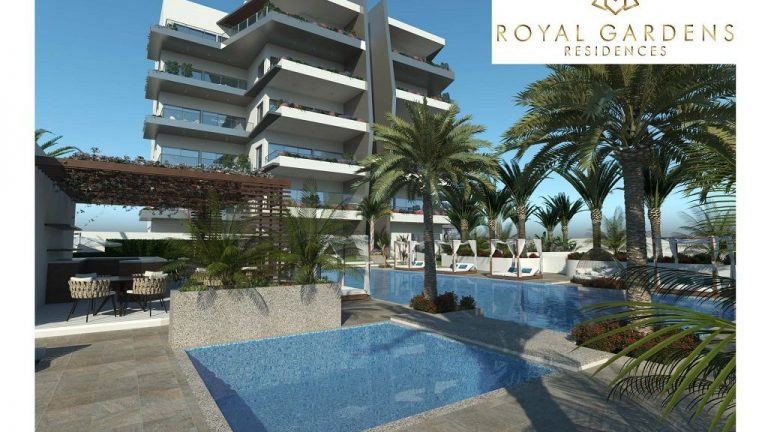 Penthouse for sale  in Limassol, Royal Gardens Luxury apartments in Limassol, Luxury residential apartments for sale in Limassol, spectre.bz