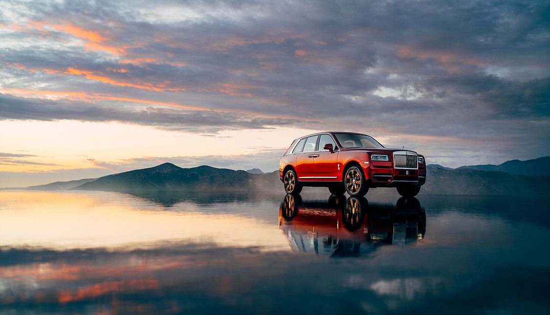 CULLINAN THE ROLLS ROYCE OF SUV's